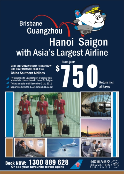 CSA Asia's Largest Airline