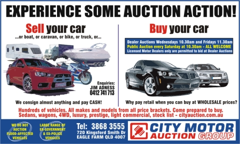 City Motor Auctions Experience Some Auction Action